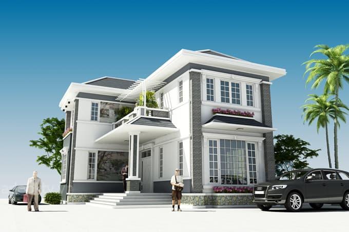 Mẫu Nhà 2 Mặt Tiền Đẹp 7M Với Mức Giá Chỉ Từ 500 Triệu