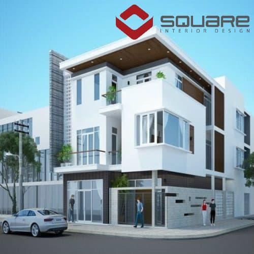 Square Chia Sẻ Những Mẫu Nhà 2 Mặt Tiền Đẹp