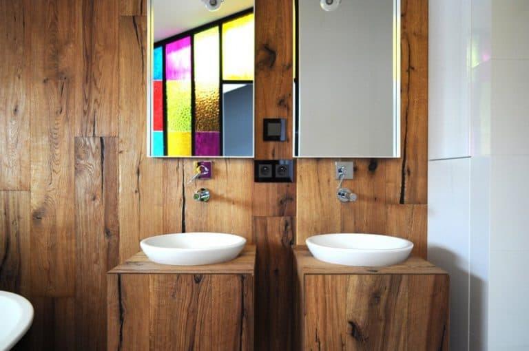 Chất liệu gỗ giúp đem lại cảm giác rất thoải mái, tự nhiên.