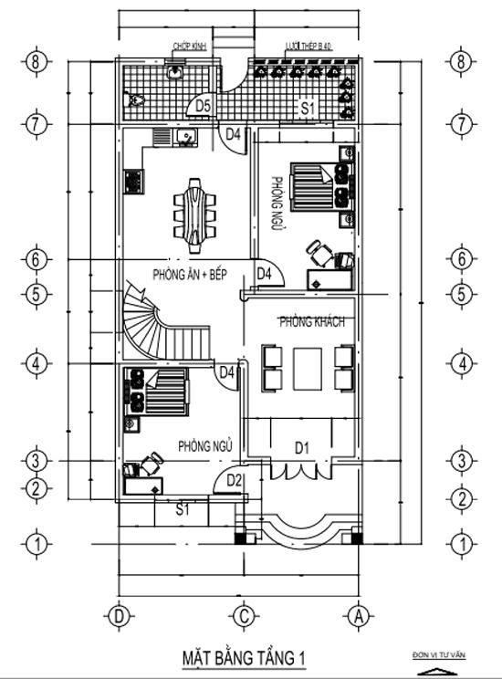 Tham Khảo Bản Thiết Kế Nhà 2 Tầng Đẹp Hoàn Chỉnh Nhất