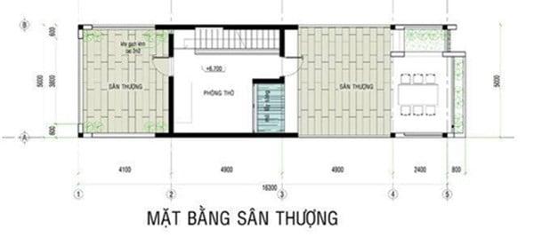 Bố trí tầng 3 trong thiết kế nhà phố 3 tầng đẹp