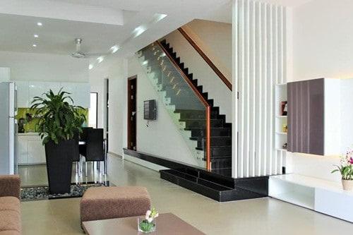 Nhà phố 3 tầng đẹp được thiết kế theo phong cách hiện đại