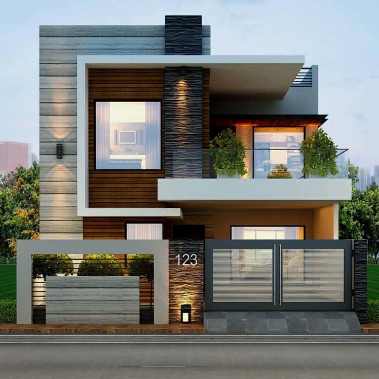 Những Mẫu Nhà Đẹp 2 Tầng Hứa Hẹn Sẽ Lên Ngôi Trong 2019