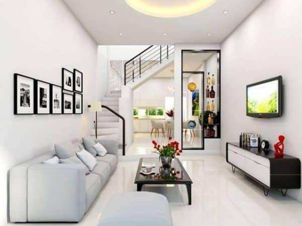 Cùng ngắm nhìn những mẫu phòng khách đẹp có cầu thang mới nhất 2019
