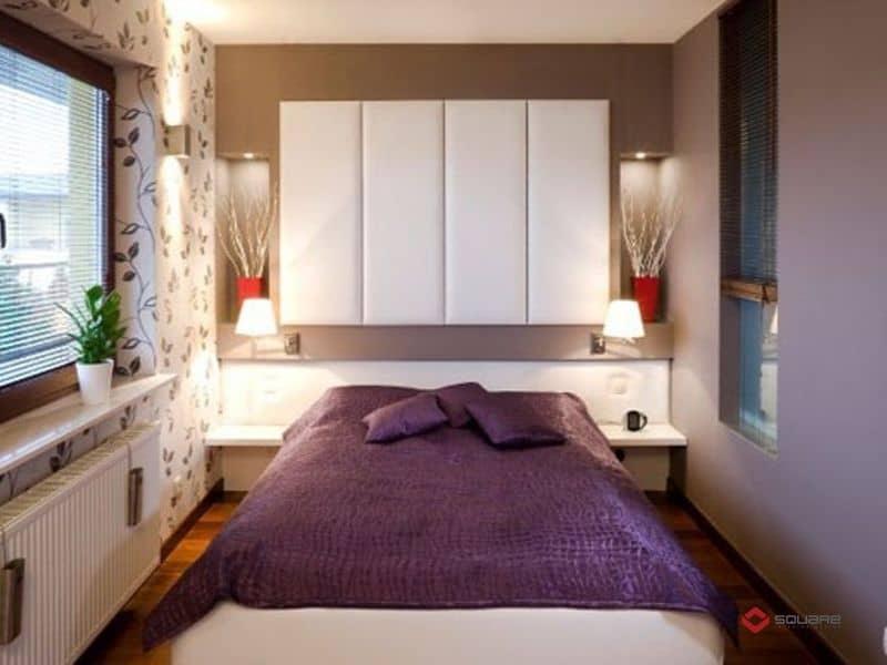Cách Trang Trí Nội Thất Phòng Ngủ Nhỏ Đẹp & Đơn Giản