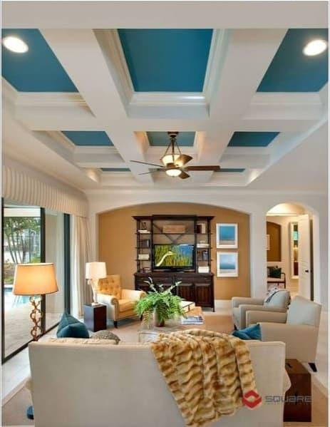 các mẫu trần nhà đẹp